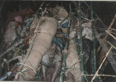dead body of Pakuakhali genocide 4