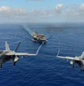 2 US Navy jets crash in Pacific ocean