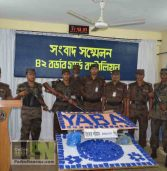 BDT. 3,00,00,000 of Yabba seized: 2 BGB wounded