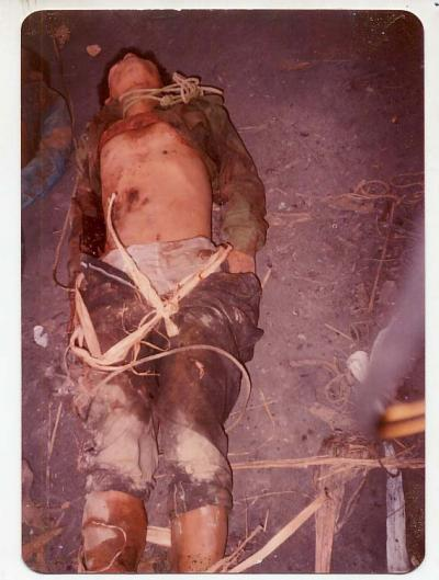 dead body of Pakuakhali genocide 3